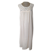 Vintage Vanity Fair Matching Nightgown and Robe