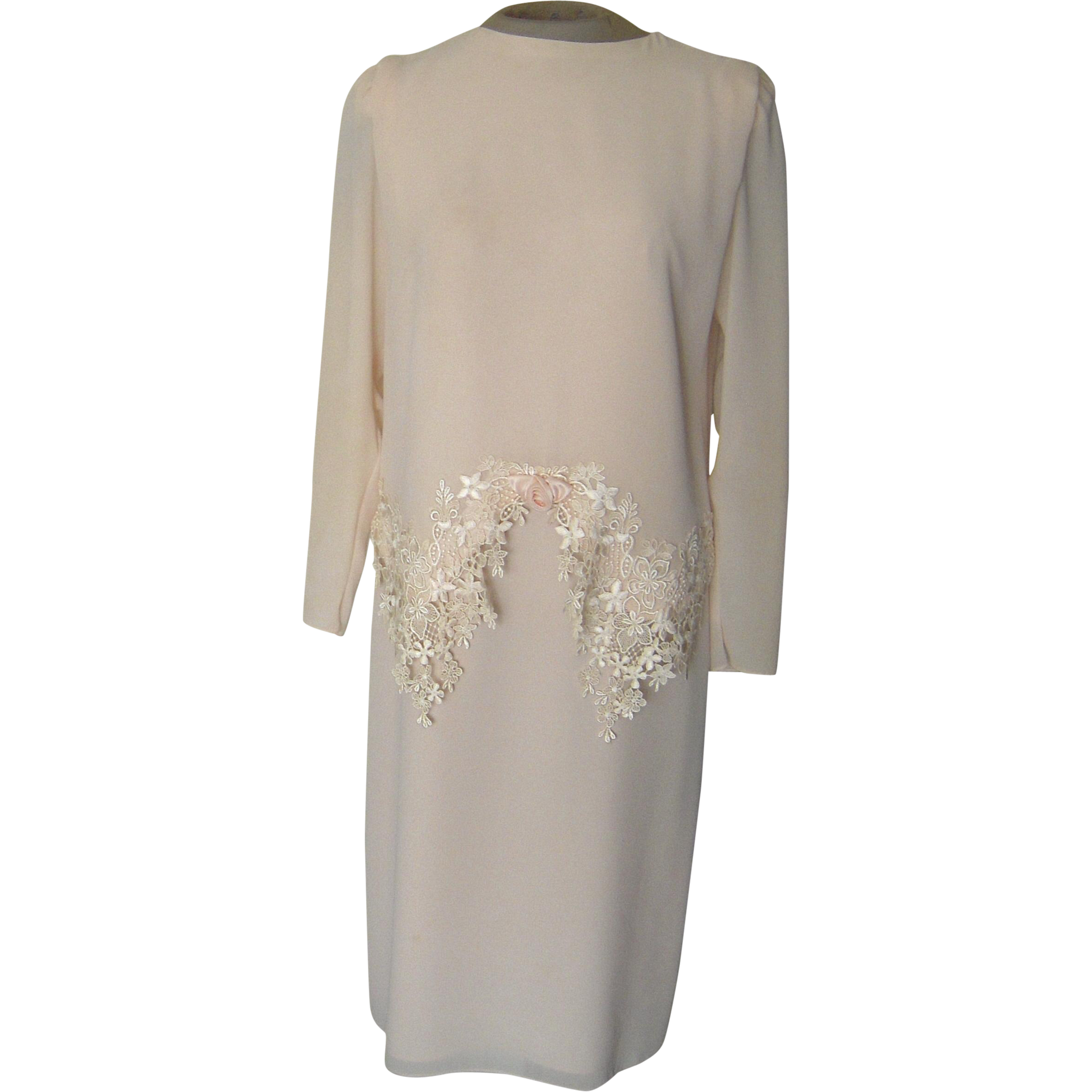 Light Pink Ursula of Switzerland Dress with Lace from beca