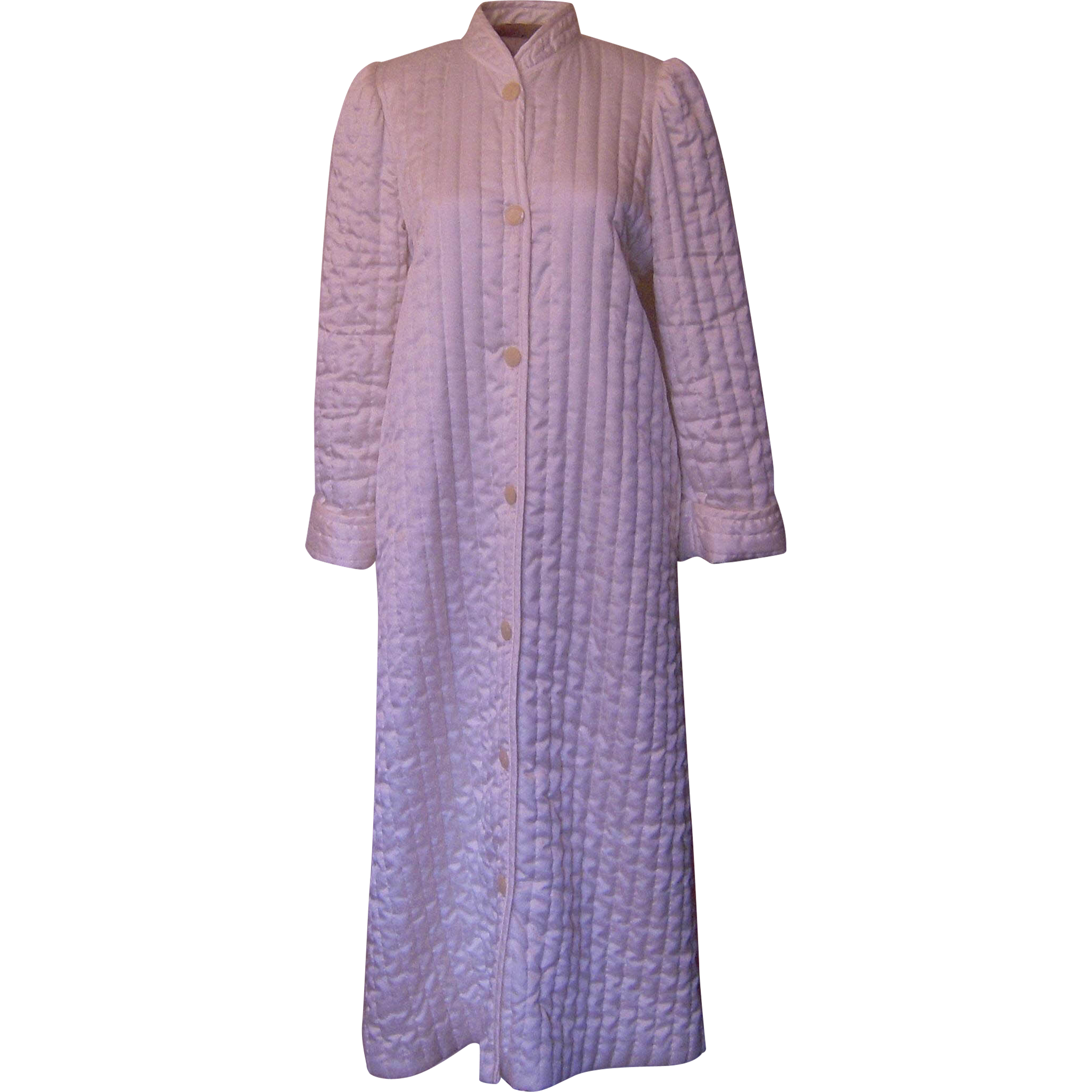 Vintage Cream Miss Elaine Quilted Robe from beca on Ruby Lane : quilted robe - Adamdwight.com