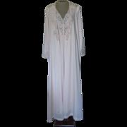 Vintage Light Pink Olga Nightgown and Robe