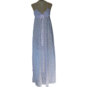 Vintage Lavender Donna Richard for Gilligan& OMalley Nightgown