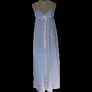 Vintage Lavender Donna Richard for Gilligan& OMalley Nightgown
