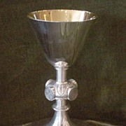 French Sterling Silver Chalice