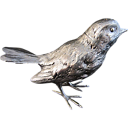 Silver Sparrow Salt or Pepper Shaker