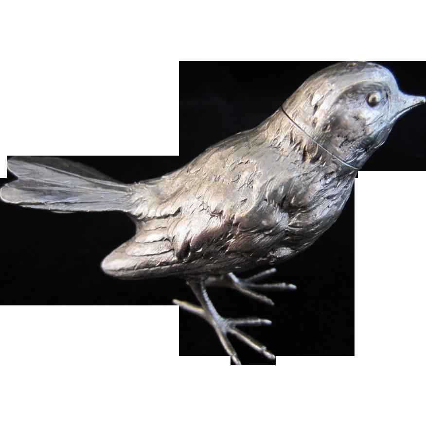Silver Sparrow Salt or Pepper Shaker