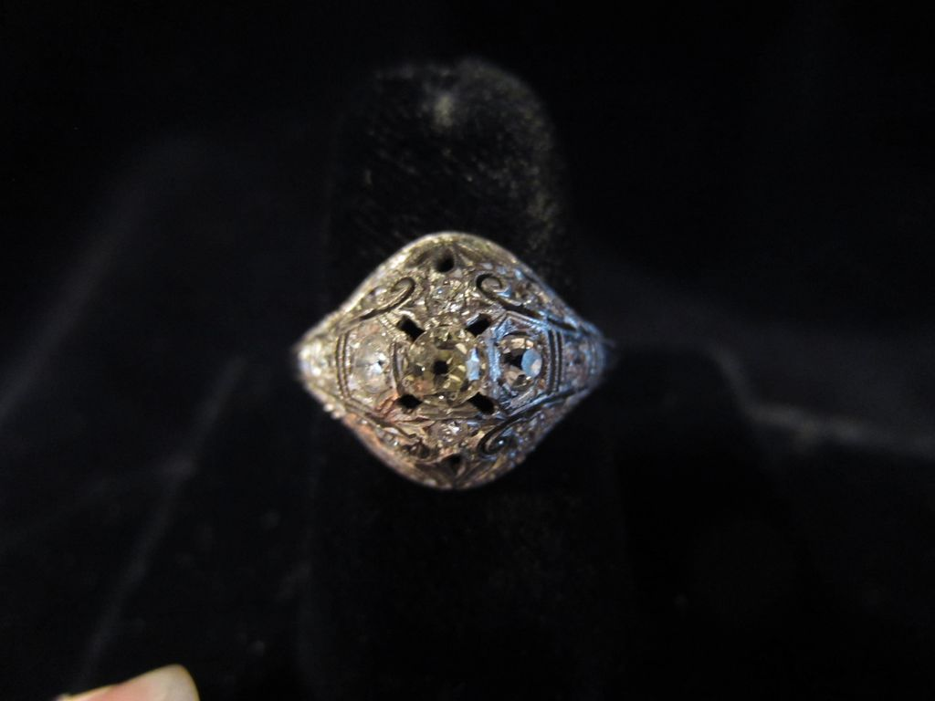 Edwardian Multiple Diamonds Ring