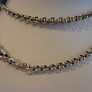 Sterling Silver Watch Chain