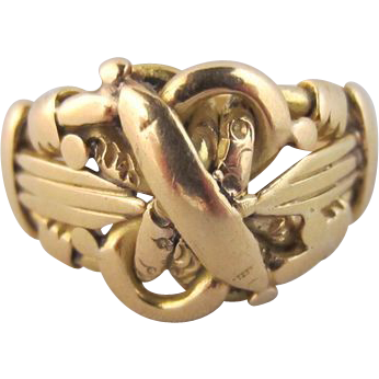 Birmingham 1908 Knot Ring in 18k Yellow Gold