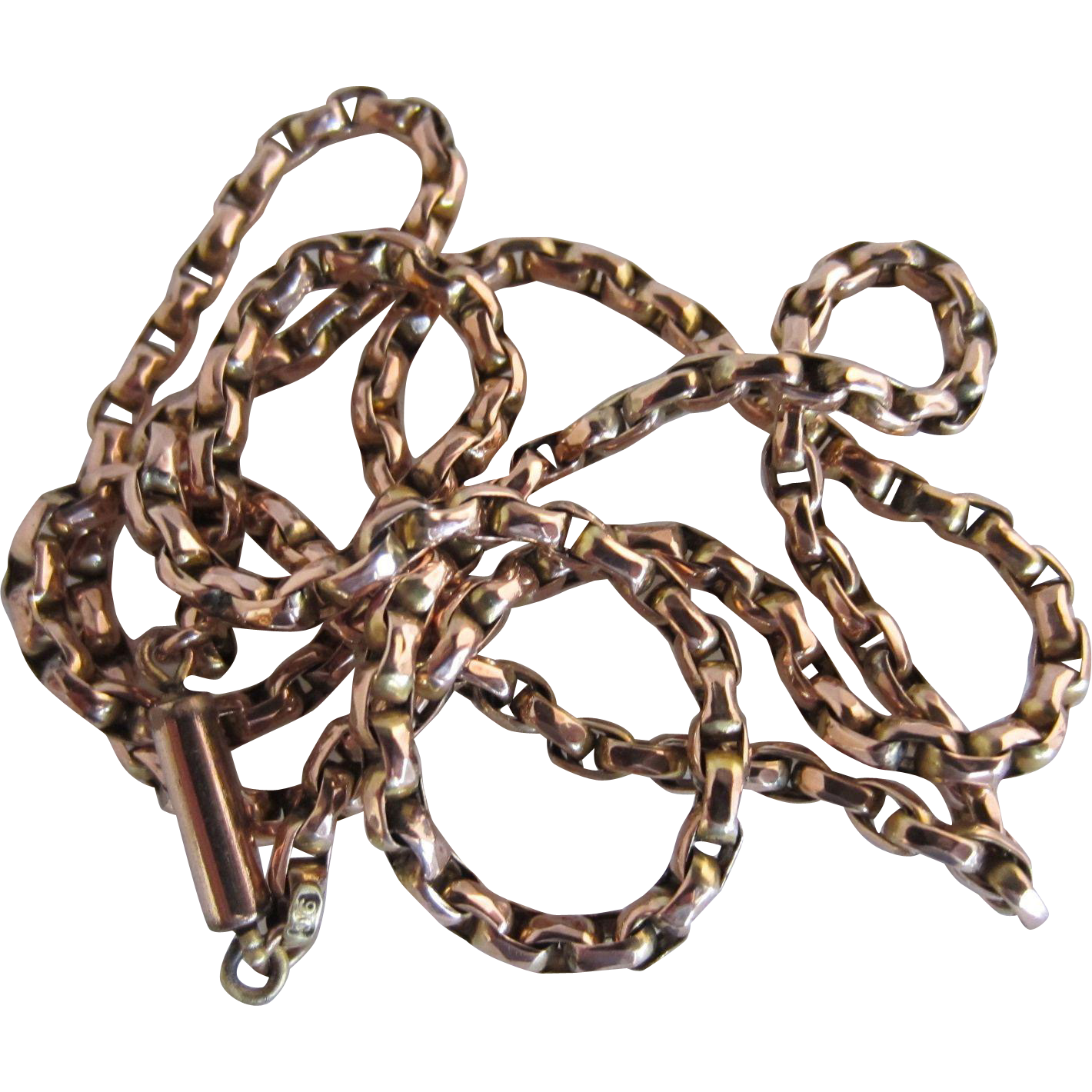 "9ct Rose Gold 24"" Chain"