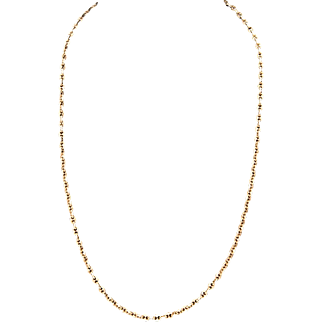 15k Yellow Gold Anchor Link Chain