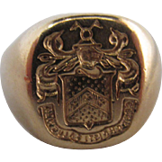 Tiffany Seal Ring
