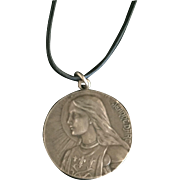 French Joan of Arc Medallion