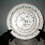 """1920's Wood & Sons 10""""  Plate  Pattern #362"""