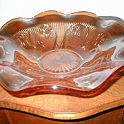 """Iris & Herringbone """"Flora Gold""""  11 1/2"""" Crimped Bowl"""