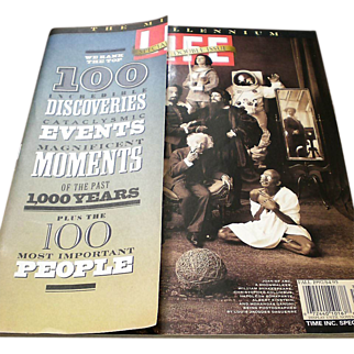 LIFE Magazine - The Millennium- Special Double Issue