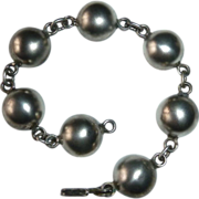 Mexican Designer Serafin Moctezuma 940 Silver Bracelet