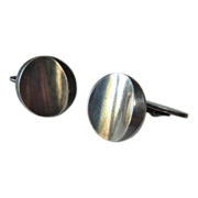 Georg Jensen Denmark Sleek Sterling Cufflinks