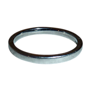 Vintage Sleek Platinum Band Rind