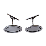 Georg Jensen Sleek Sterling Cufflinks