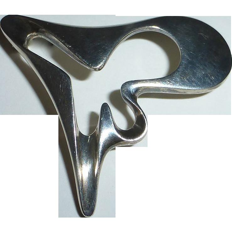 Georg Jensen Sterling Henning Koppel Amorphic Pin 3