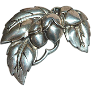 Viking Craft Sterling Leaves & Buds Pin