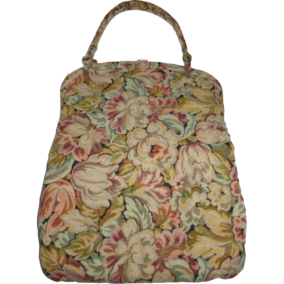 how to clean l.l bean tapestry handbag