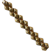 Kenneth J Lane Sculptural Pyramid Bracelet