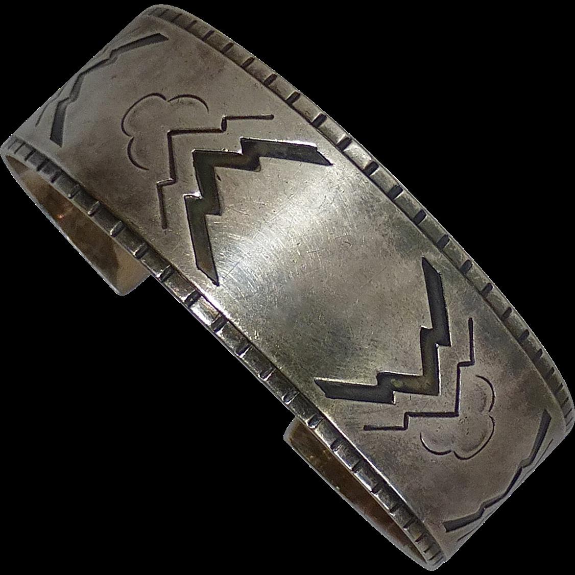 Georg Jensen Sterling Cuff Bracelet