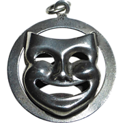 Beau Sterling Thespian Charm Comedy / Tragedy - Red Tag Sale Item
