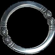 Georg Jensen Sterling Circle Pin #253