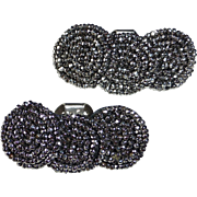 Steel Cut Beaded Spiral Shoe Clips