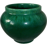 Semi Matte Green Blended Glaze Vase