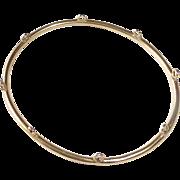 14k Victorian Yellow Gold Charm Bracelet