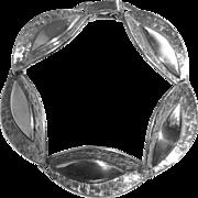 Danecraft Sterling Dimensional Lens Link Bracelet