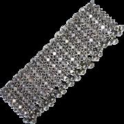 Sterling Ethnic Tribal Indian Cannetille Filigree Bracelet