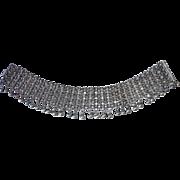 Sterling Ethnic Tribal Indian Cannetille Filigree Bracelet #2