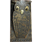 Jugendstil Arts & Crafts Owl Desk or Wall Clip Hugo Berger c1900