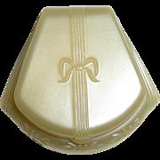 Dennison Art Deco Ring Box Pearl Celluloid c1920s