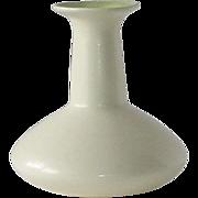 Redwing Creamy White Matte & Chartreuse Glaze Vase