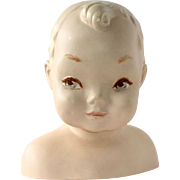 Baby Bust Adorable Store Countertop Mannequin Display