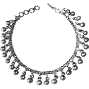 800 Silver Ethnic Indian Ankle Bracelet