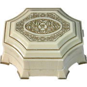 Art Deco Fancy Celluloid Ring Presentation Box