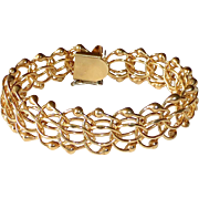 Gold Filled Open Link Bracelet