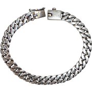 Italian Heavy Sterling Flat Curb Chain