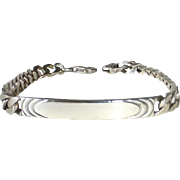 Sterling Unengraved ID Bracelet
