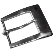 Classic Tiffany & Co Sterling Silver Belt Buckle