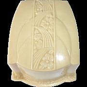 Art Deco Celluloid & Velvet Ring Hinged Presentation Box