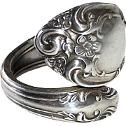 Gorham Sterling Spoon Ring 'Melrose' Pattern