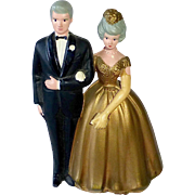50th Golden Anniversary Cake Topper