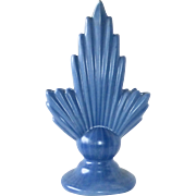 Art Deco Dutch Blue Semi Matte Vase